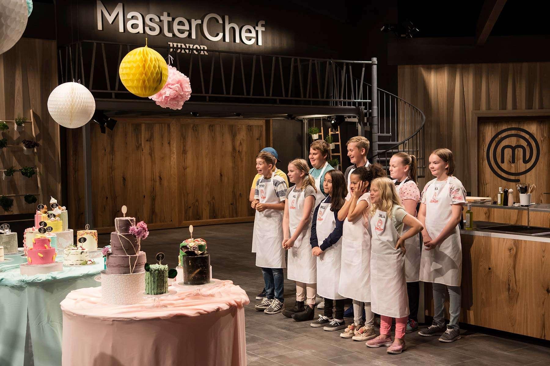Kuva Master Chef Junior 2017